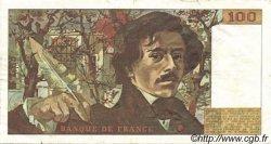 100 Francs DELACROIX FRANCE  1978 F.68.01 SUP