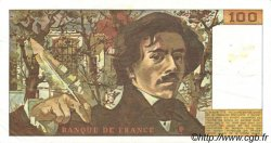 100 Francs DELACROIX FRANCE  1978 F.68.04 pr.SUP