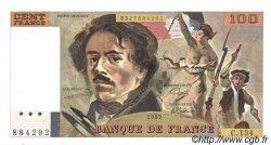 100 Francs DELACROIX modifié FRANCE  1988 F.69.13a NEUF