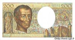 200 Francs MONTESQUIEU FRANCE  1988 F.70.08 NEUF