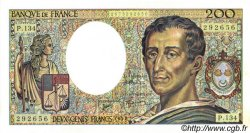 200 Francs MONTESQUIEU FRANCE  1992 F.70.12c SPL