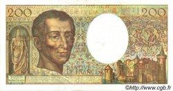 200 Francs MONTESQUIEU modifié FRANCE  1994 F.70/2.01 SUP+
