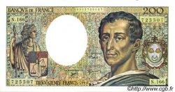 200 Francs MONTESQUIEU modifié FRANCE  1994 F.70/2.01 pr.SPL