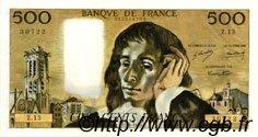500 Francs PASCAL FRANCE  1969 F.71.03 SUP à SPL
