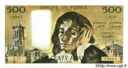 500 Francs PASCAL FRANCE  1970 F.71.05 SUP+