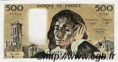 500 Francs PASCAL FRANCE  1985 F.71.33 pr.NEUF