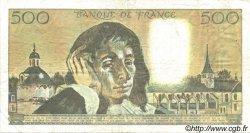 500 Francs PASCAL FRANCE  1989 F.71.42 TTB+