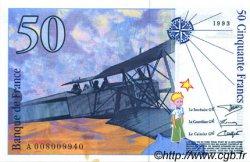 50 Francs SAINT-EXUPÉRY FRANCE  1993 F.72.02 SPL+
