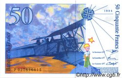 50 Francs SAINT-EXUPÉRY modifié FRANCE  1994 F.73.01