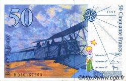 50 Francs SAINT-EXUPÉRY modifié FRANCE  1997 F.73.04 SUP