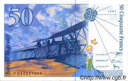 50 Francs SAINT-EXUPÉRY modifié FRANCE  1997 F.73.04 SUP+