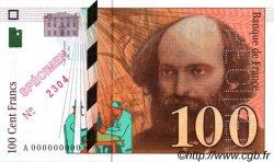 100 Francs CÉZANNE FRANCE  1997 F.74.00s1 NEUF