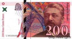 200 Francs EIFFEL FRANCE  1995 F.75.01 pr.SPL