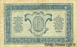 50 Centimes TRÉSORERIE AUX ARMÉES FRANCE  1917 VF.01.09 TTB+