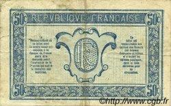 50 Centimes TRÉSORERIE AUX ARMÉES FRANCE  1917 VF.01.17 TB