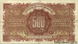 500 Francs MARIANNE FRANCE  1945 VF.11.01 TTB