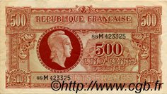 500 Francs MARIANNE FRANCE  1945 VF.11.02 TTB à SUP