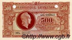 500 Francs MARIANNE FRANCE  1945 VF.11.05 NEUF