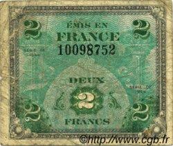 2 Francs DRAPEAU FRANCE  1944 VF.16.01 B+