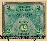 2 Francs DRAPEAU FRANCE  1944 VF.16.01 SPL