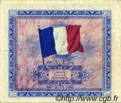 2 Francs DRAPEAU FRANCE  1944 VF.16.02 TTB