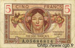 5 Francs TRÉSOR FRANÇAIS FRANCE  1947 VF.29.01 TTB