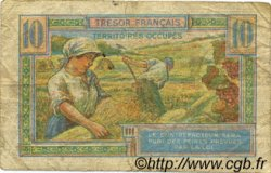 10 Francs TRÉSOR FRANÇAIS FRANCE  1947 VF.30.01 pr.TB