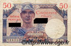 50 Francs SUEZ FRANCE  1956 VF.41.01 pr.TTB