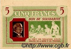 5 Francs BON DE SOLIDARITÉ FRANCE régionalisme et divers  1941 KL.05A3 NEUF