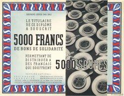 5000 Francs - 5000 Soupes FRANCE régionalisme et divers  1941 KL.06 SUP