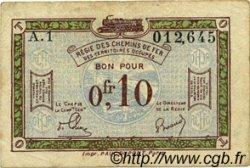 10 Centimes FRANCE régionalisme et divers  1923 JP.135.02 TB+