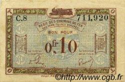 10 Centimes FRANCE Regionalismus und verschiedenen  1923 JP.135.02 VZ