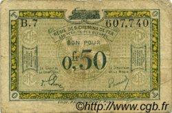 50 Centimes FRANCE régionalisme et divers  1956 JP.04 pr.TB