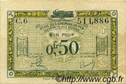 50 Centimes FRANCE régionalisme et divers  1956 JP.04 TTB+