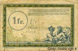 1 Franc FRANCE régionalisme et divers  1956 JP.05 pr.TB