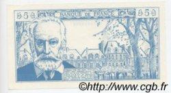 5 Nouveaux Francs VICTOR HUGO FRANCE régionalisme et divers  1960  NEUF