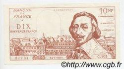 10 Nouveaux Francs RICHELIEU FRANCE régionalisme et divers  1960  SPL