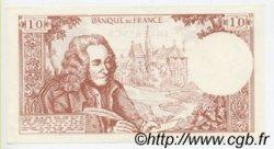 10 Francs VOLTAIRE FRANCE régionalisme et divers  1970  SPL+