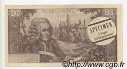 10 Francs VOLTAIRE FRANCE régionalisme et divers  1966  SPL