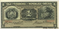 1 Boliviano BOLIVIE  1902 P.092 pr.NEUF