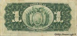 1 Boliviano BOLIVIE  1911 P.103 TTB