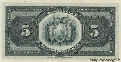 5 Bolivianos BOLIVIE  1911 P.105b NEUF