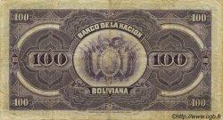 100 Bolivianos BOLIVIE  1911 P.111 TTB