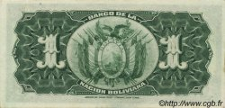 1 Boliviano BOLIVIE  1929 P.112 SPL