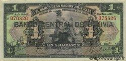 1 Boliviano BOLIVIE  1929 P.112 TTB+