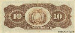 10 Bolivianos BOLIVIE  1929 P.114 TTB+