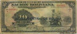 10 Bolivianos BOLIVIE  1929 P.114 B
