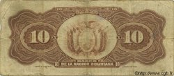 10 Bolivianos BOLIVIE  1929 P.114 TB