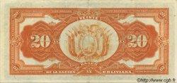 20 Bolivianos BOLIVIE  1929 P.115 TTB+