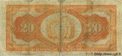 20 Bolivianos BOLIVIE  1929 P.115 pr.TB